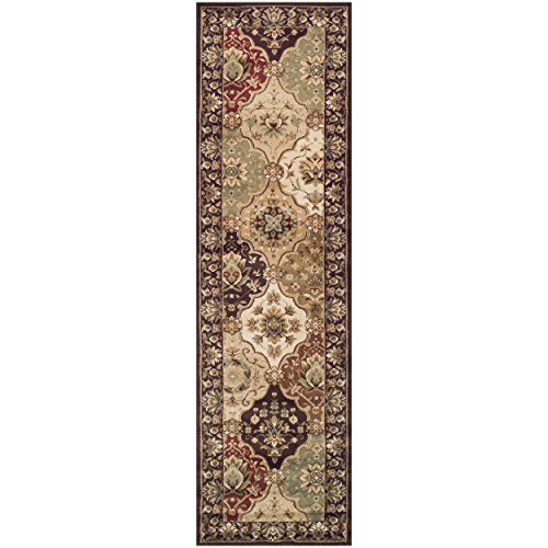 myra Collection Area Rug, 10mm Pile Height with Jute Backing, Gorgeous Traditional Persian Rug Design, Anti-Static, Water-Repellent Rugs - 2'7