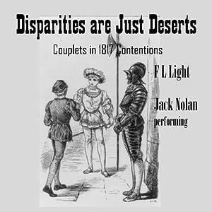 Disparities Are Just Deserts Audiobook