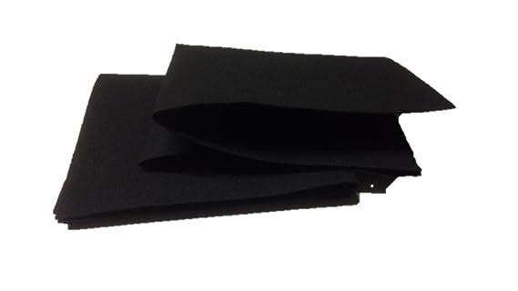 Stück cm cm aktivkohlefilter für dunstabzugshauben
