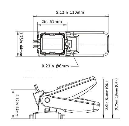 Bomba de achique NUZAMAS con interruptor de flotador automático de encendido y apagado, 12 V, 24 V o 32 V para yates, caravanas, acampadas y pesca marítima: ...