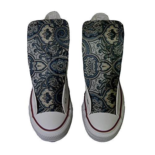 Customized Blue Adulte Chaussures mys Coutume Converse Paisley Artisanal Produit zn5qSwUx1a