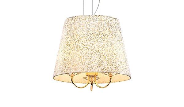 Ideal Lux Queen SP3 - Lámpara de techo colgante 3 luces con ...