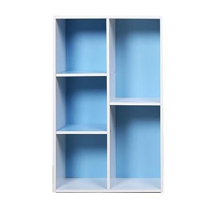477ea170287e Amazon.com: HM&DX 5-Cube Bookcase Open Shelf,Contemporary Wood ...