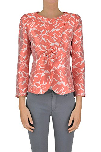 Armani Collezioni Jackets - Armani Collezioni Women's Mcglcsg03060e Red Silk Jacket