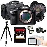Sony a7S II ILCE7SM2/B E-mount Camera Full-Frame Sensor, Black w/ Rokinon Cine DS DS14M-NEX 14mm T3.1 Bundle