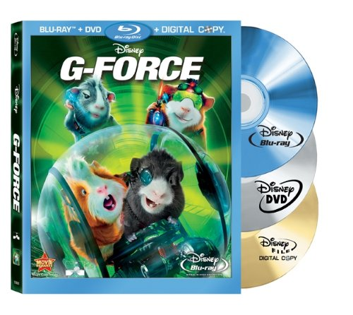 G-Force (Three-Disc DVD/Blu-ray Combo +Digital Copy)