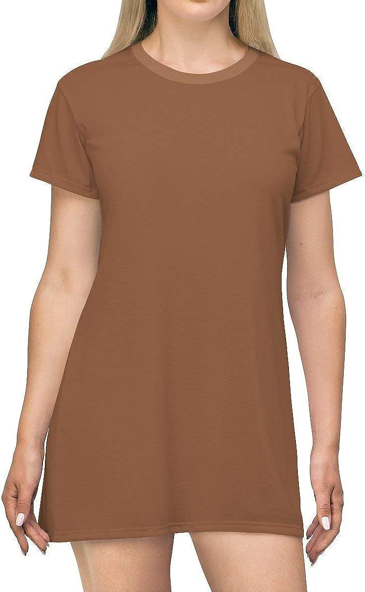 Trend 2020 Sugar Almond T-Shirt Dress