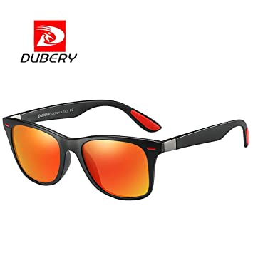 af4b96eb5f DUBERY Sunglasses Men s Polarized Sunglasses Outdoor Driving Men Women  Sport Frame Fishing Hunting Boating Glasses New
