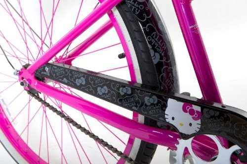 1d792b9507c Amazon.com : Hello Kitty Women's Cruiser Bike with 17-Inch Frame,  Pink/Black, 26-Inch : Cruiser Bicycles : Sports & Outdoors