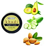 Khadi Rishikesh Herbal Night Cream ,should be able to fight puffiness, wrinkle, & pigmentation ,anti aging roughness…