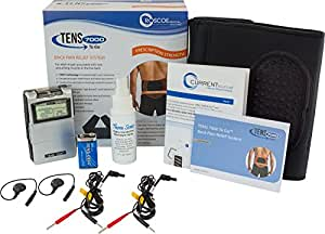 Roscoe DT6070 TENS 7000 To Go Back Pain Relief System, TENS Technology for Targeted Back Pain Relief, Battery Included