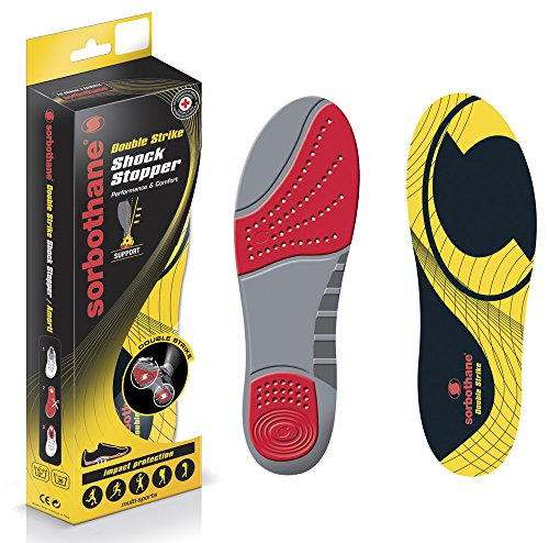 Sorbothane Fuß Orthopädische Schuhe Pad Multi Sport Double Strike Einlegesohlen