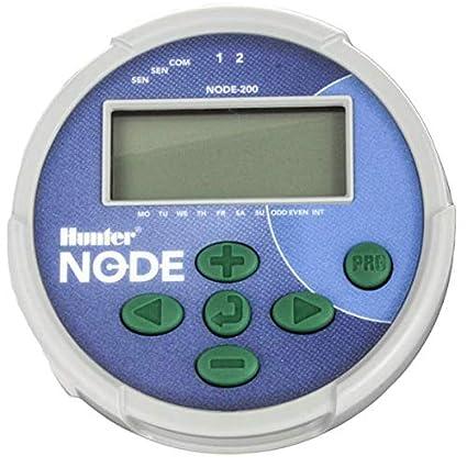 Grey NODE-200 Hunter Sprinkler Node200 Node 2-Station Irrigation Controller