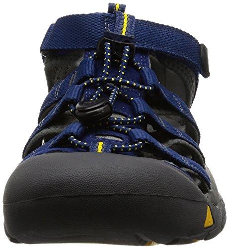 Keen Newport H2 Zapatillas de Senderismo, Unisex Niños Azul (Blue Depths/Gargoyle)