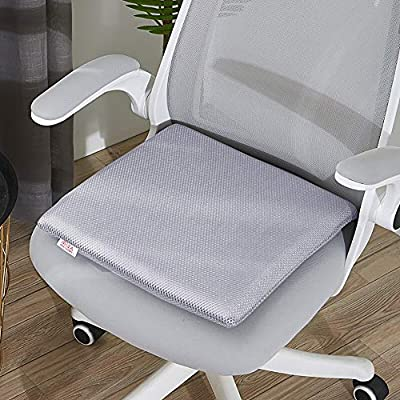 YAUUYA Cojín para Silla para Asiento de jardín 40 x 40 x 5cm Cojines para sillas de Exterior Cojín Decorado de Asiento para Silla de jardín Natural para sillas de jardín sofás: