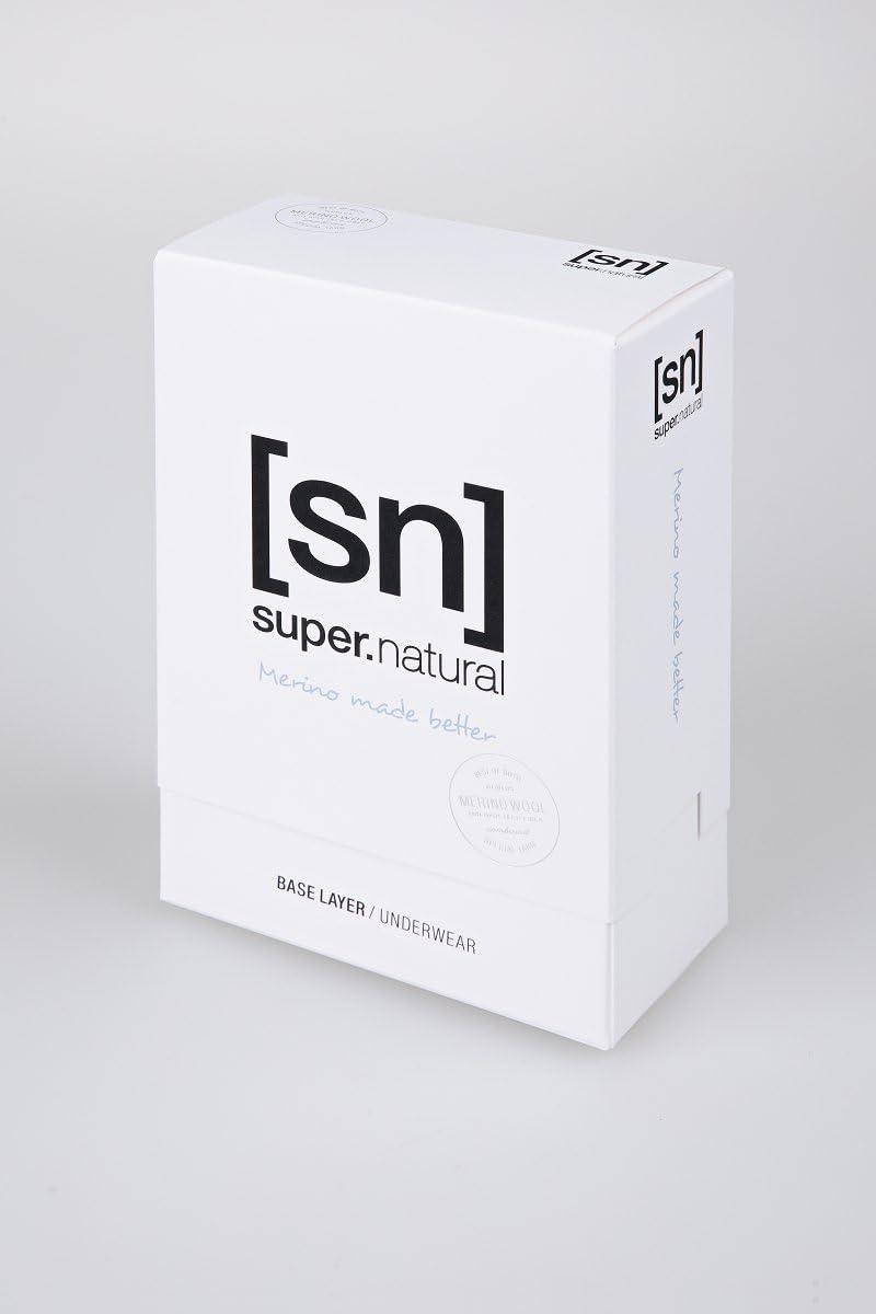 super.natural Damen Funktions-Unterhose W BASE 3//4 TIGHT 230 PRINTED Mit Merinowolle 3//4 L/änge