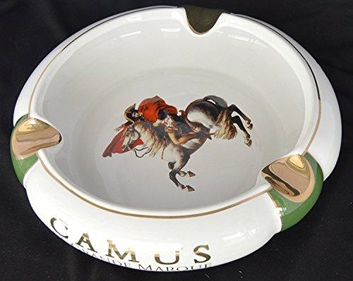 H&H Illustrious Collection - Camus - Napoleon White & Green Cigar Ashtray (Porcelain Ashtray)