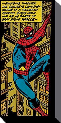 Con Lienzo Marvel Peluche Spiderman De Marco Artístico Cuadro NXwOkP8n0Z