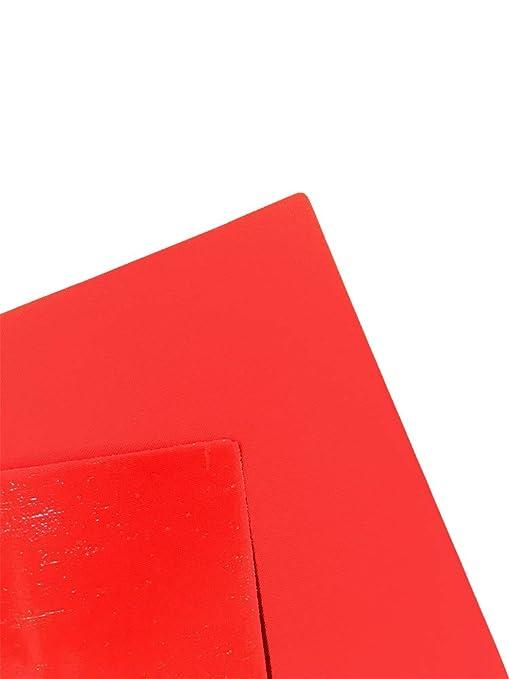 46. Rojo Haberdashery Online 1 Parche de Tela reparadora para pantal/ón 40X12 cms TR-46