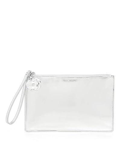 f811126b9ec59 Lulu Guinness Grace Silver Disco Ball Clutch Bag Silver Size  Unique Size