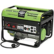 Steele Products SP-GL350 3,500 Watt 4-Cycle Propane Powered Portable Generator