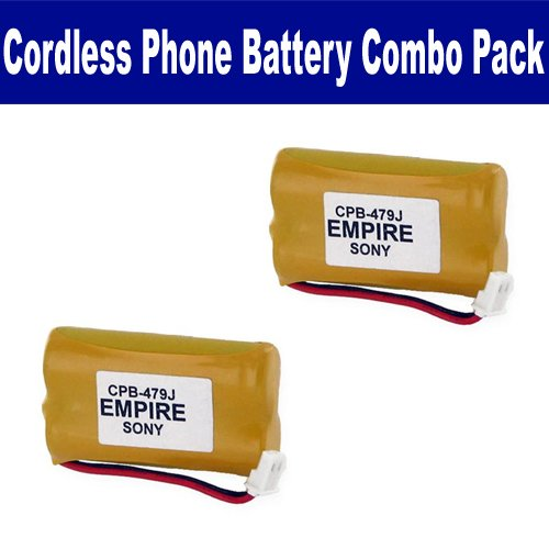 Sony SPP-N1000 Cordless Phone Combo-Pack includes: 2 x EM-CPB-479J Batteries