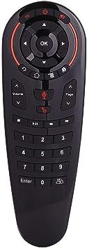 DroiX G30 Control Remoto inalámbrico Air-Mouse con Aprendizaje por Infrarrojos, Asistencia de Google Assistant y giroscopio para Android TV Box, HTPC, ...