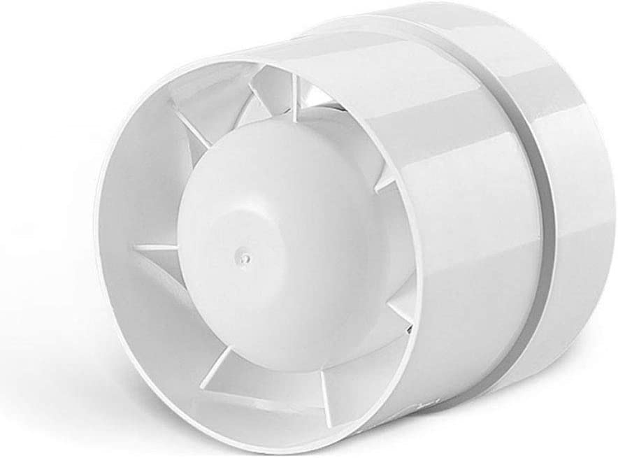 "SAILFLO 4 inch Inline Duct Booster Fan 110V 12W 76CFM Energy Saving Efficient Exhaust Vent Blower for Home grow tent Shop mall office basement attic etc.(4""/100mm)"