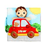 Kids Soft Cloth Baby Intelligence Development Educational Learn Picture Cognize Book Baby Gift (D)
