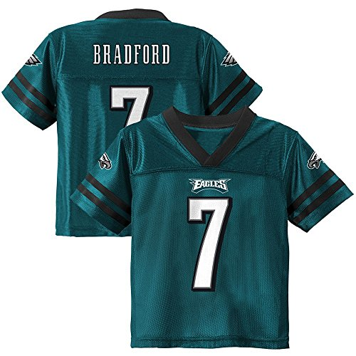 Sam Bradford NFL Philadelphia Eagles Teal Home Jersey Infant Toddler (12M-4T)