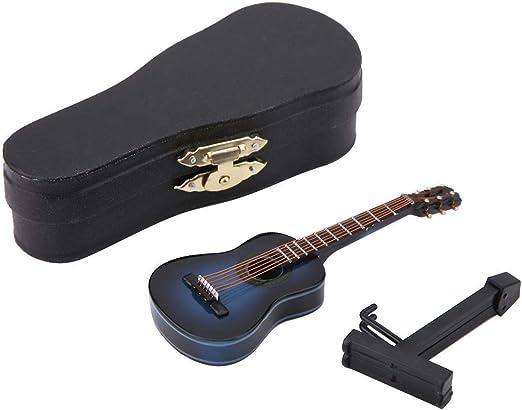 1:12 Dollhouse miniature guitar accessories instrument doll house ornamen