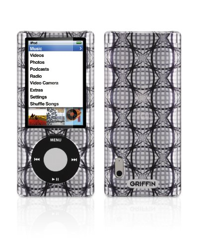 Griffin iClear Sketch Polycarbonate Case for iPod nano 5G (Warp Black)