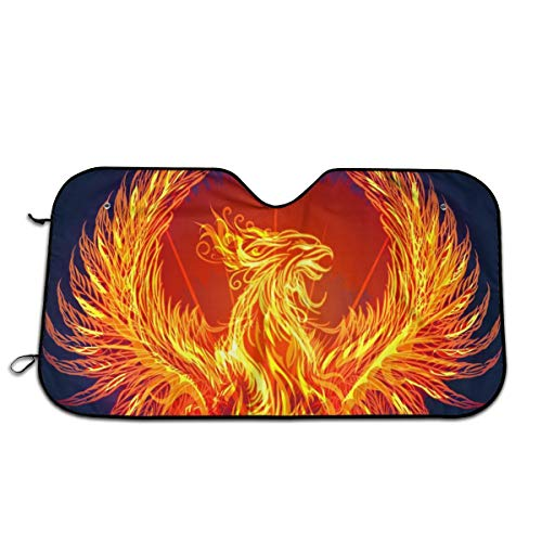 CHILL·TEK Fire Phoenix is Reborn Universal Car Windshield