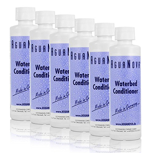 6x 250ml AguaNova Wasserbett Konditionierer Conditioner
