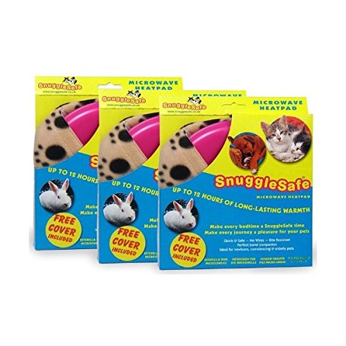 - 3 Pack SnuggleSafe Microwave Heat Pad