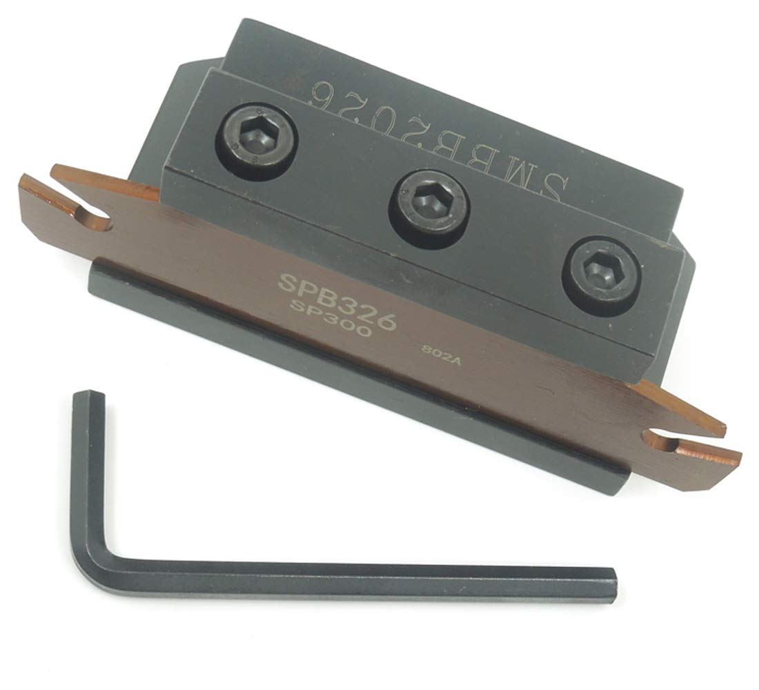 SPB326 SPB26-3mm Grooving Parting Blade Plate SMBB2026 Cut Off Block Tool Holder