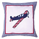 Airplane Pillow - Blue