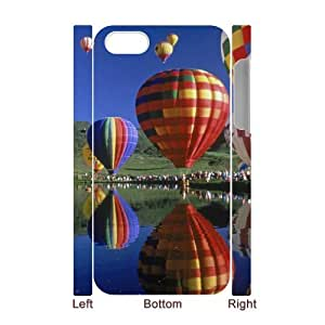 YCHZH Phone case Of Colorful Hot Air Balloon Cover Case For Iphone 5C