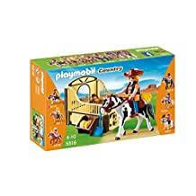 Playmobil Rodeo Horse with Stall Playset