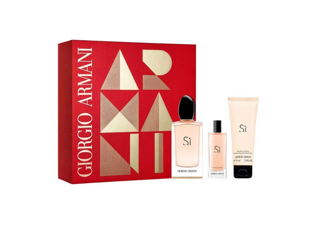 Armani 57619 Set Si Eau de Parfum, Body y Eau de Parfum, 190 ml: Amazon.es: Belleza