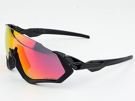 Gafas Polarizadas Deporte Bici Anti UV400 Gafas para Correr Running Antivaho con 3 Lentes Intercambiables Adaptadas También A Ciclismo Bicicleta De Montaña MTB,Black: Amazon.es: Deportes y aire libre