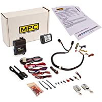 MPC PREWIRED - Remote Start Kit with Keyless Entry for Select Chrysler Dodge Jeep [2008 & Up] - Includes T-Harness To Simplify Installation