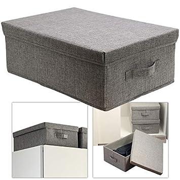 Top Hausfelder ORDNUNGSLIEBE Aufbewahrungsbox groß mit Deckel - Box FQ95