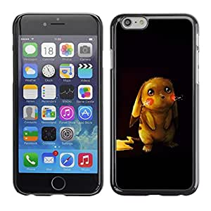 LECELL -- Funda protectora / Cubierta / Piel For Apple iPhone 6 -- Cute Pikochu Animal --