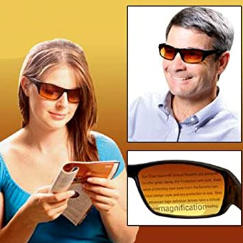 c4287e57ec Image Unavailable. Image not available for. Color  HD VISION BIFOCAL  SUNGLASSES 2.0X (AS SEEN ON TV)