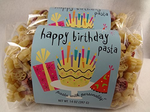 Amazon.com : Happy Birthday Pasta by The Pasta Shoppe : Grocery ...