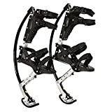 Kids Youth Kangaroo Shoes Jumping Stilts Fitness Exercise, for People Weight (44Lbs~88Lbs/20Kg~40Kg) Black