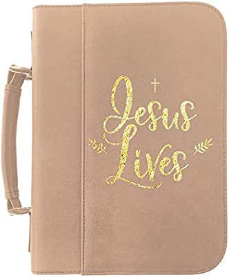 828bfb7dad9db Amazon.com  Get Box Today Personalized Leatherette Bible Cover ...
