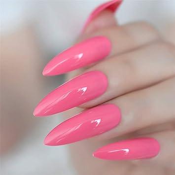 Amazon.com: Pinzas de uñas negras extremadamente largas con ...