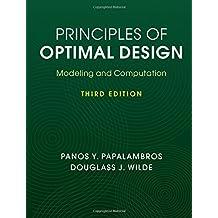 Principles of Optimal Design: Modeling and Computation